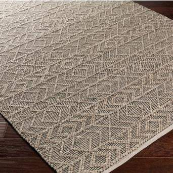 Ingrid Hand Crafted Rug Collection: Multiple Sizes & Shapes (Taupe) - Parker Gwen
