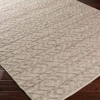 Ingrid Hand Crafted Rug Collection: Multiple Sizes & Shapes (Almond) - Parker Gwen