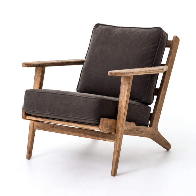 Brooks Lounge Chair (Stonewash Green) - Irondale Collection - Parker Gwen