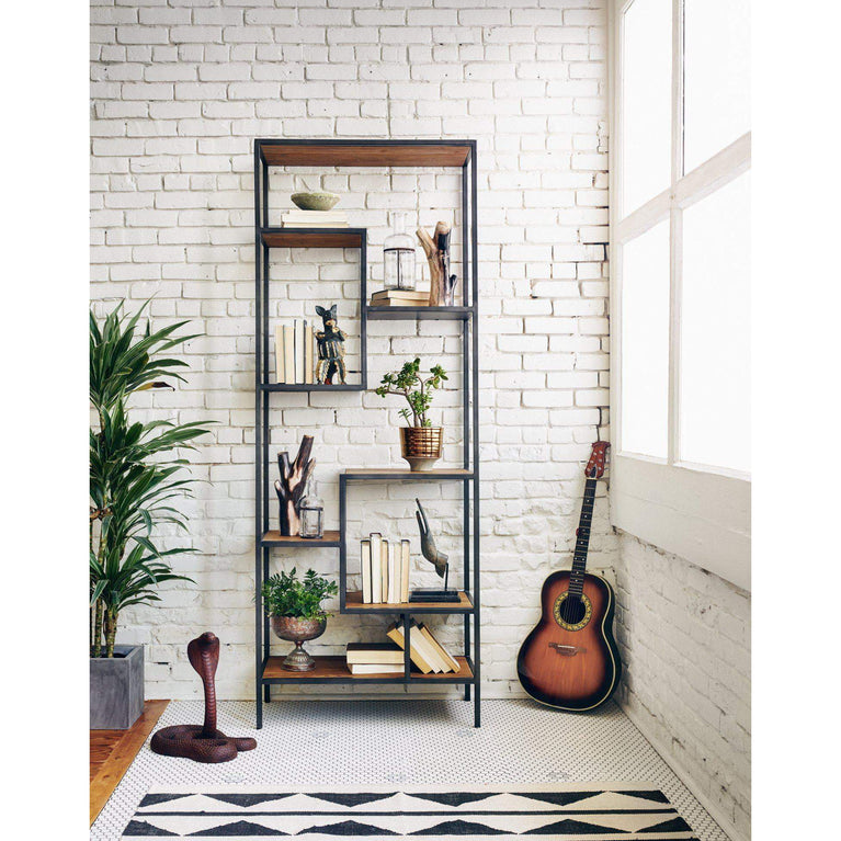 "Helena Bookcase 83"" or 102"" Tall - Irondale Collection - Parker Gwen"
