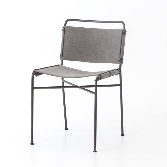 Wharton Dining Chair (Stonewash Grey) - Irondale Collection | Dining Chair | parker-gwen
