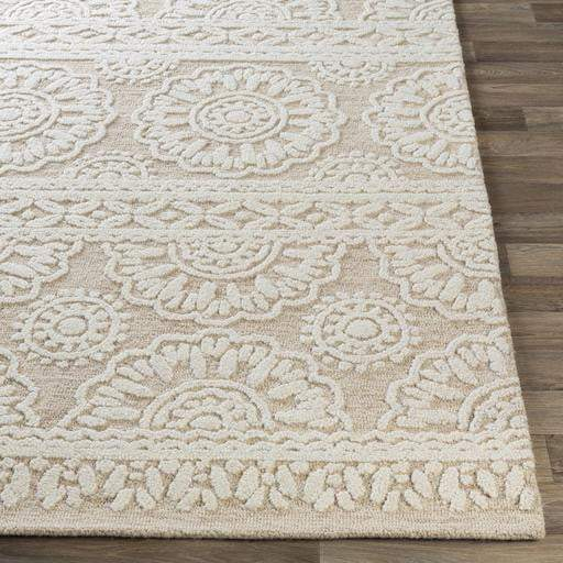 Izmir Hand Tufted Wool Rug Collection - Multiple Sizes (Khaki) - Parker Gwen