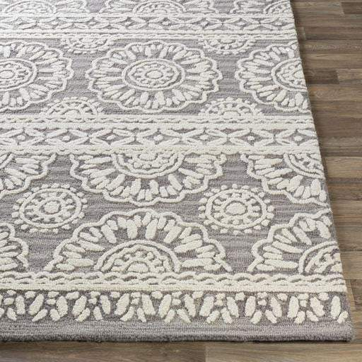 Izmir Hand Tufted Wool Rug Collection - Multiple Sizes (Charcoal) - Parker Gwen