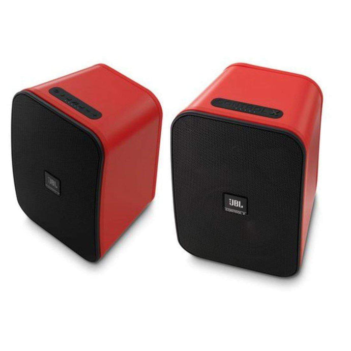JBL Control X Wireless Speakers: Pair (Red) - Parker Gwen
