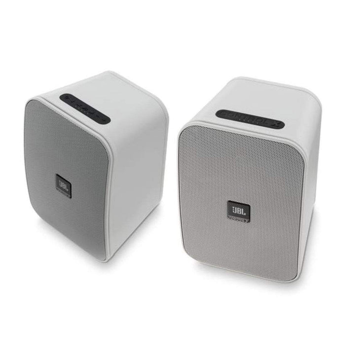 JBL Control X Wireless Speakers: Pair (White)-Wireless Speaker-Parker Gwen