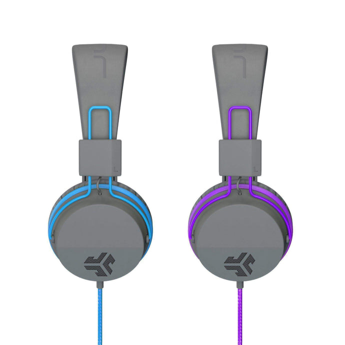 JBUDDIES STUDIO OVER EAR FOLDING KIDS HEADPHONES: Blue or Purple - Parker Gwen