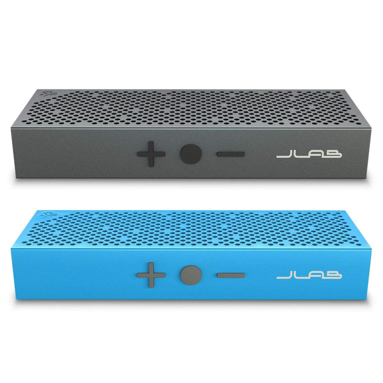 JLab Audio Crasher Slim Portable Bluetooth Speakers with Lightweight Metal Body - Parker Gwen