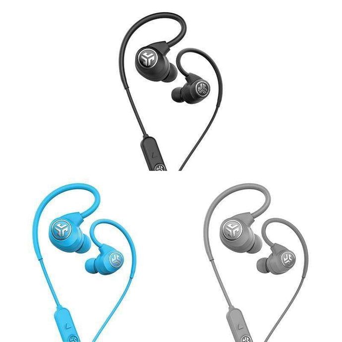 Jlab EPIC SPORT WIRELESS EARBUDS: Black, Blue or Grey - Parker Gwen