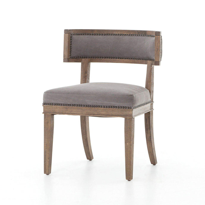 Carter Dining Chair (Dark Moon Canvas) - Kensington Collection - Parker Gwen