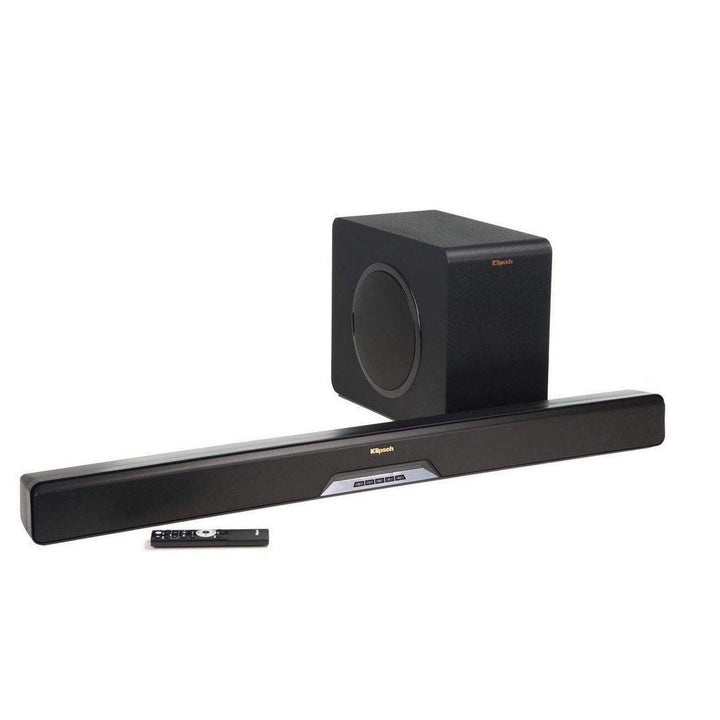 Klipsch Reference Series Sound Bar System - 2.1 Channel - Wireless Sub (RSB-11)-Soundbar-Parker Gwen