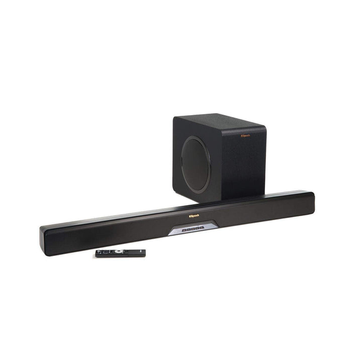 Klipsch Reference Series Sound Bar System - 2.1 Channel - Wireless Sub (RSB-14) - Parker Gwen
