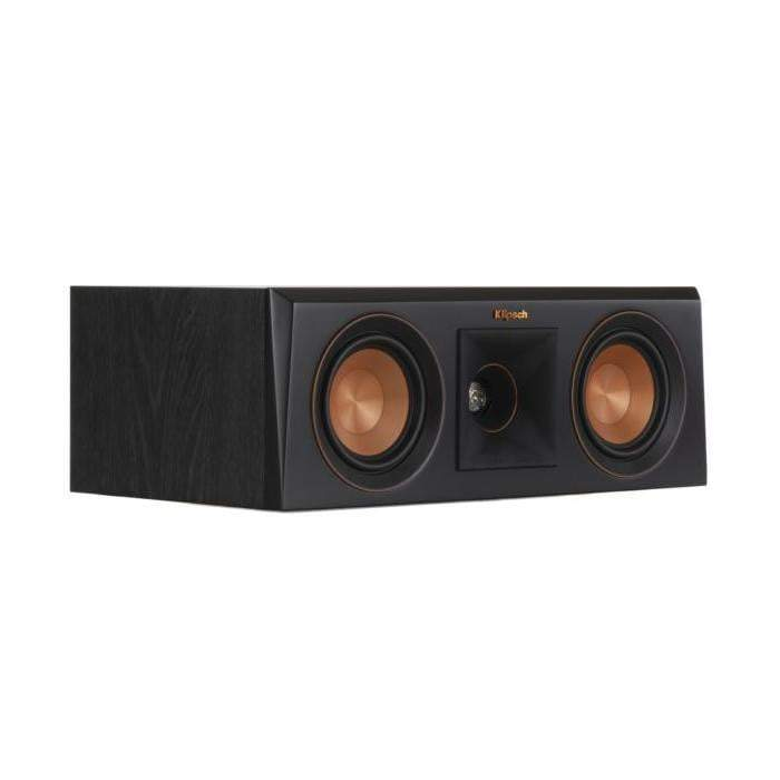 Klipsch RP-400C CENTER CHANNEL SPEAKER: Black-Loudspeaker-Parker Gwen