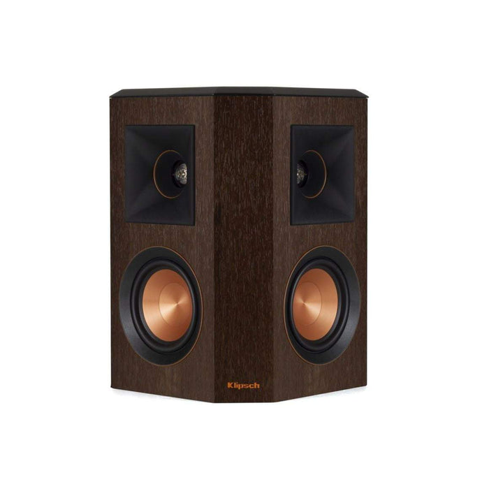 Klipsch Reference Premiere RP-402S SURROUND SOUND SPEAKER PAIR: Walnut - Parker Gwen