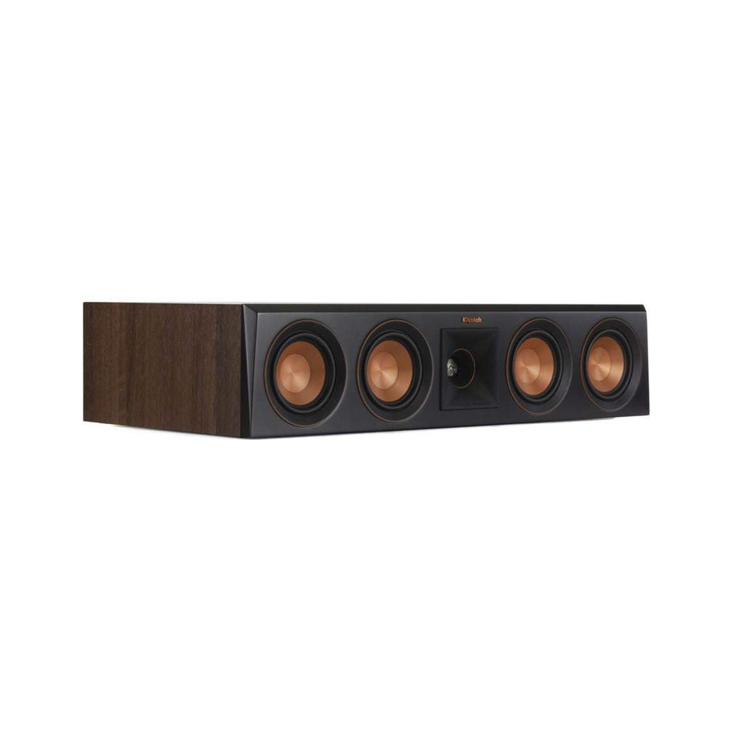 Klipsch Reference Premiere RP-404C CENTER CHANNEL SPEAKER: Walnut - Parker Gwen