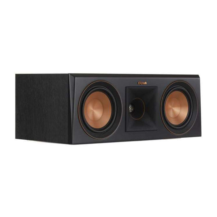 Klipsch RP-500C CENTER CHANNEL SPEAKER: Black-Loudspeaker-Parker Gwen