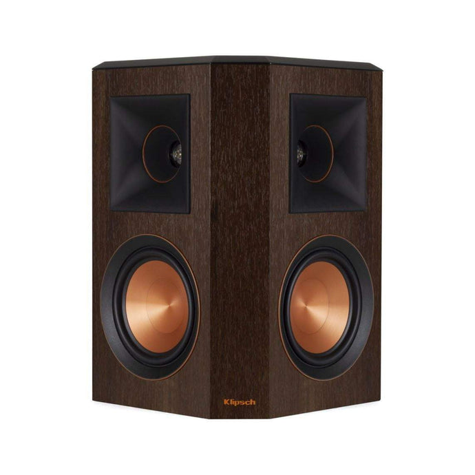 Klipsch Reference Premiere RP-502S SURROUND SOUND SPEAKER PAIR: Walnut - Parker Gwen
