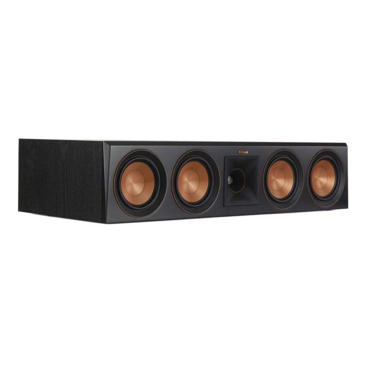 Klipsch RP-504C CENTER CHANNEL SPEAKER: Black-loudspeaker-Parker Gwen