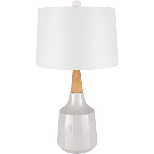 Kent Table Lamp (White Ceramic) - Parker Gwen