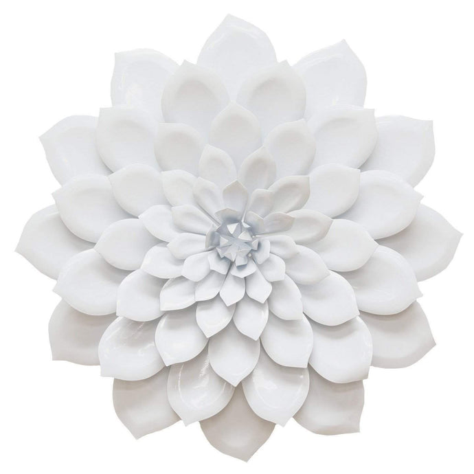 Layered White Flower Wall Décor - Parker Gwen