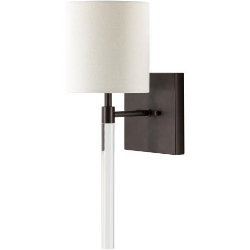 Jeffery Clear Acrylic Wall Sconce | Sconce | parker-gwen