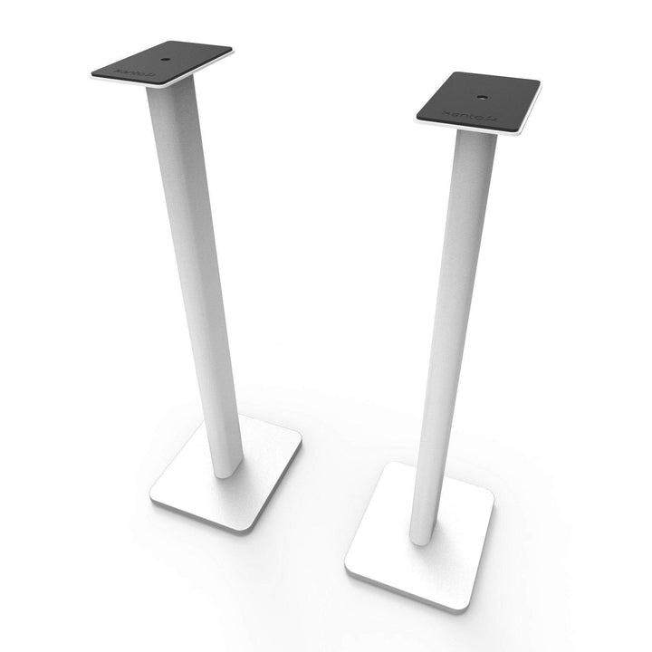 "Kanto 26"" or 32"" Bookshelf Speaker Stands (White)"