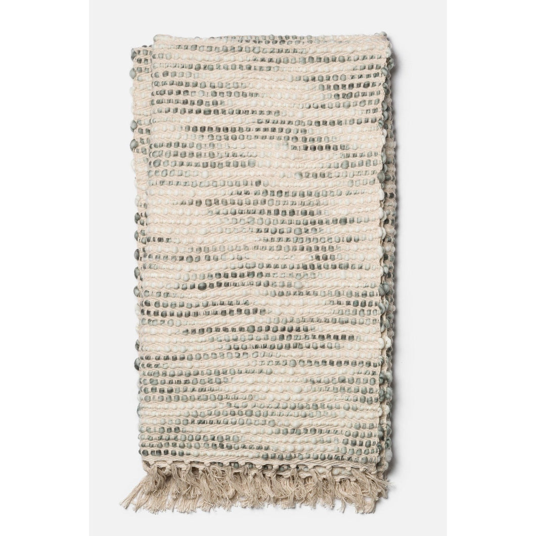 Loloi Abby Throw - Ivory/Grey | Throw | parker-gwen