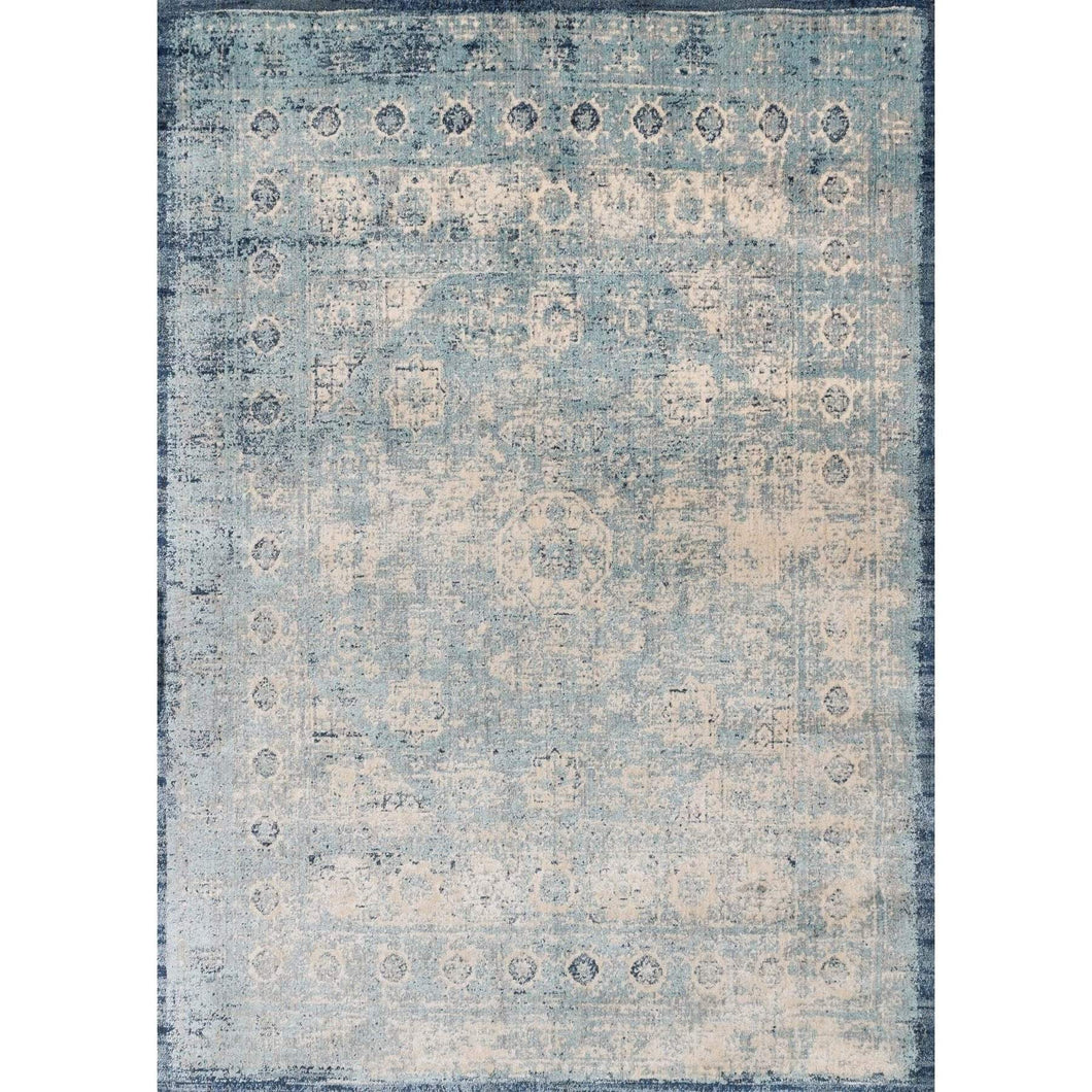Loloi Anastasia Rug Collection - Light Blue/Ivory - Parker Gwen