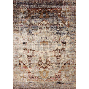 Loloi Anastasia Rug Collection - Slate/Multi-Indoor-Parker Gwen