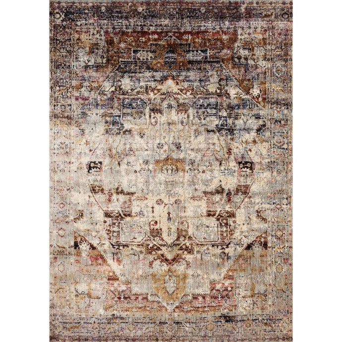 Loloi Anastasia Rug Collection - Slate/Multi - Parker Gwen