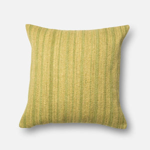 Loloi Dhurri Pillow Collection - Green - Parker Gwen