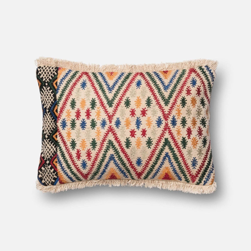 Loloi Embellished Pillow Collection - Multi - Parker Gwen