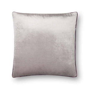 "Loloi Grey 22"" x 22"" Throw Pillow - Parker Gwen"