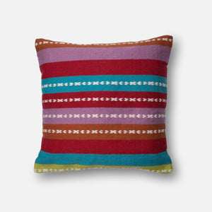 Loloi Indoor/Outdoor Pillow Collection - Multi-Outdoor Pillow-Parker Gwen