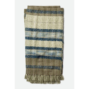 Loloi Iris Throw - Grey/Navy - Parker Gwen