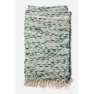Loloi Lily Throw - Blue/Ivory-Throw-Parker Gwen