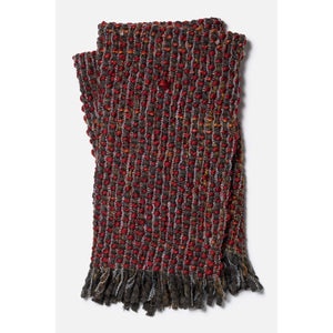 Loloi Rosa Throw - Red/Brown-Throw-Parker Gwen