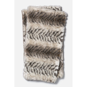 Loloi Zora Throw - White/Black | Throw | parker-gwen