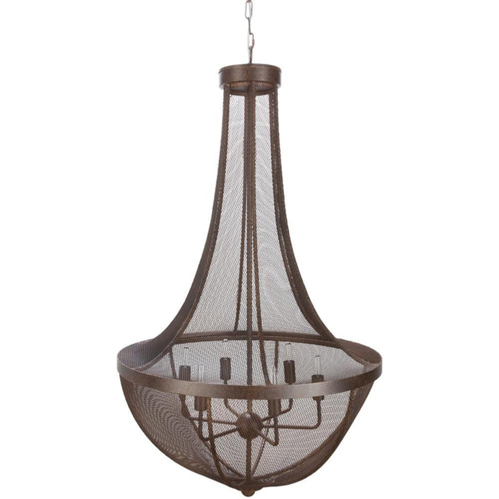 Bronze Antiqued Metal Chandelier | Chandelier | parker-gwen
