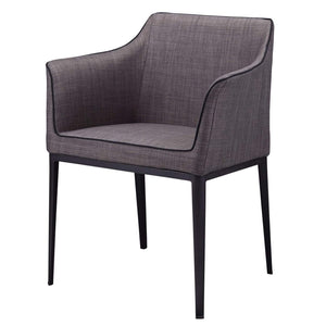 Lotus Arm Chair (Black) - Parker Gwen