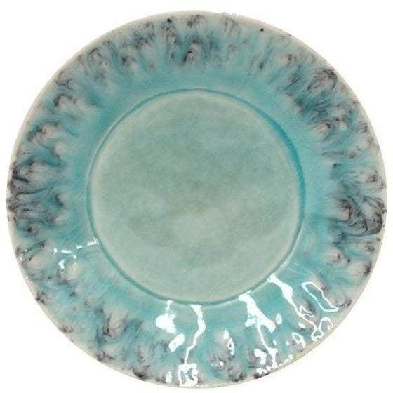 MADEIRA Bread Plate (Set of 6): Blue-Plate-Parker Gwen