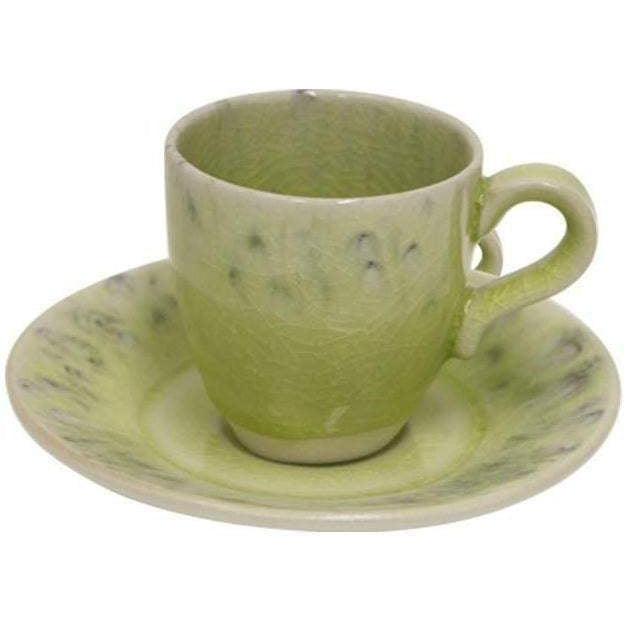 Madeira Cup and Saucer Set of 6 (Lemon) - Parker Gwen