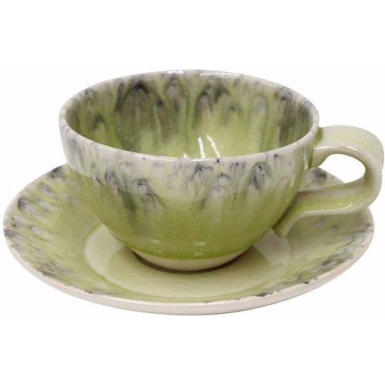 Madeira Tea Cup and Saucer Set of 6 (Lemon) - Parker Gwen