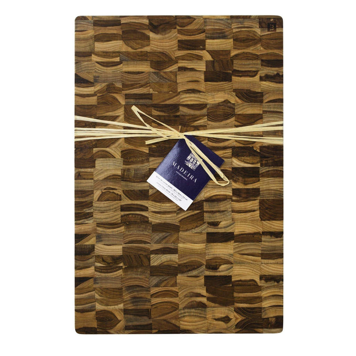 Madeira END GRAIN JUMBO CHOP BLOCK Cutting Board - Parker Gwen