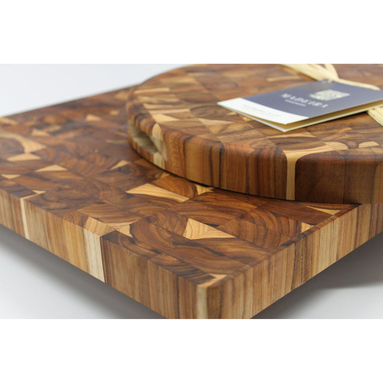 Madeira END GRAIN XL CARVING Cutting Board | Cutting Board | parker-gwen
