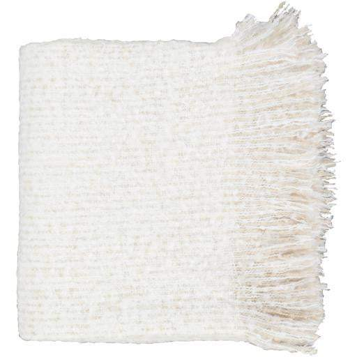 Madurai Woven Fringe Edge Acrylic Throw Blanket 50