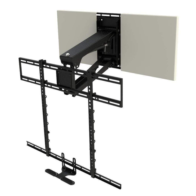 MANTELMOUNT Pro Series PULL DOWN FIREPLACE TV MOUNT FOR 44