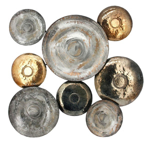 METAL DISC WALL Decor-Wall Accent-Parker Gwen