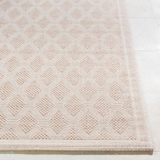 Marmaris Diamond Indoor/Outdoor Rug Collection - 3 Sizes ( Beige)-Indoor/outdoor-Parker Gwen