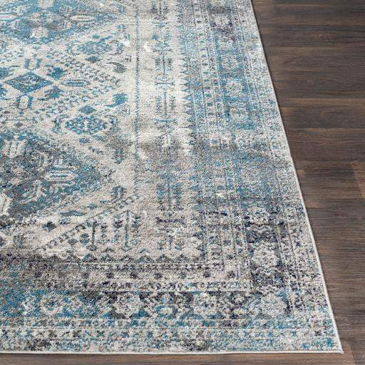 Monte Trio Rug Collection - Multiple Sizes & Shapes (Grey/Blue) - Parker Gwen