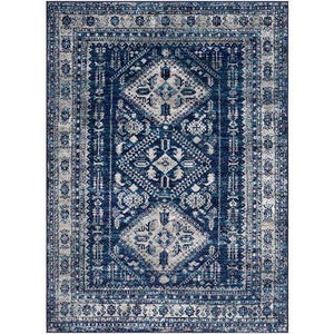 Monte Trio Rug Collection - Multiple Sizes & Shapes (Navy) - Parker Gwen